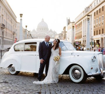 Italy Wedding Photography | Rome Wedding | Vatican | La Posta Vecchia