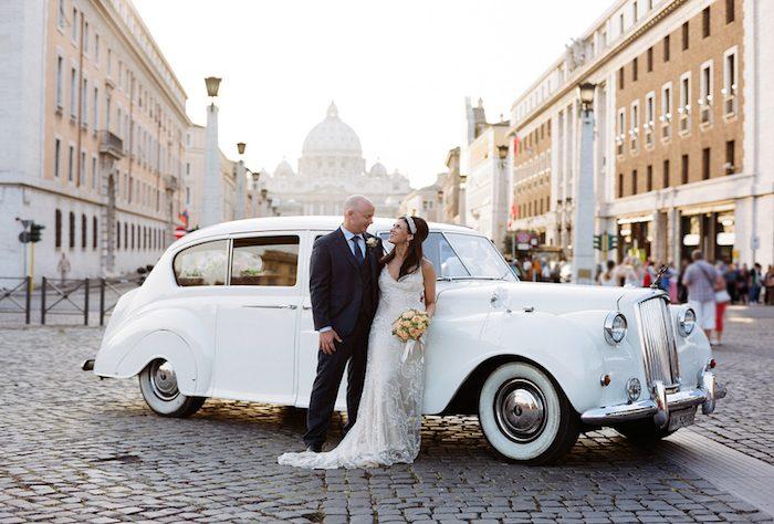Italy Wedding Photography | Rome Wedding | Vatican | La Posta Vecchia