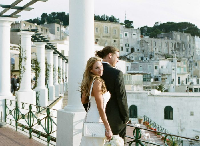 Destination Wedding Photography in Capri