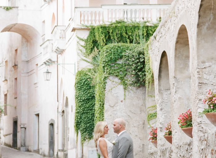 Elopement in Ravello Photography