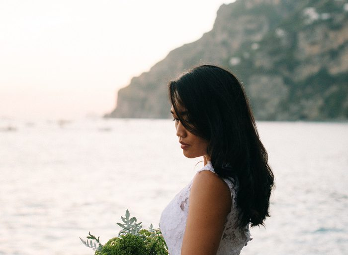 Destination Elopement Photography in Positano, Italy