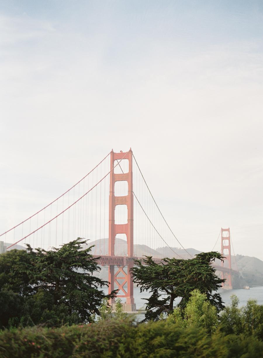 Golden Gate bridge - San Francisco San Francisco Elopement Wedding Photography