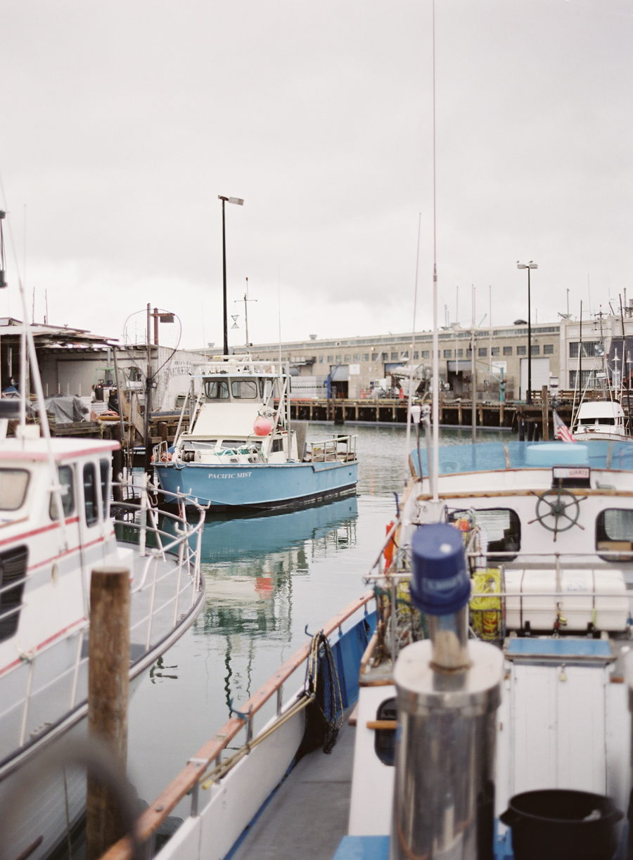 Fisherman's Wharf San Francisco Elopement Wedding Photography-