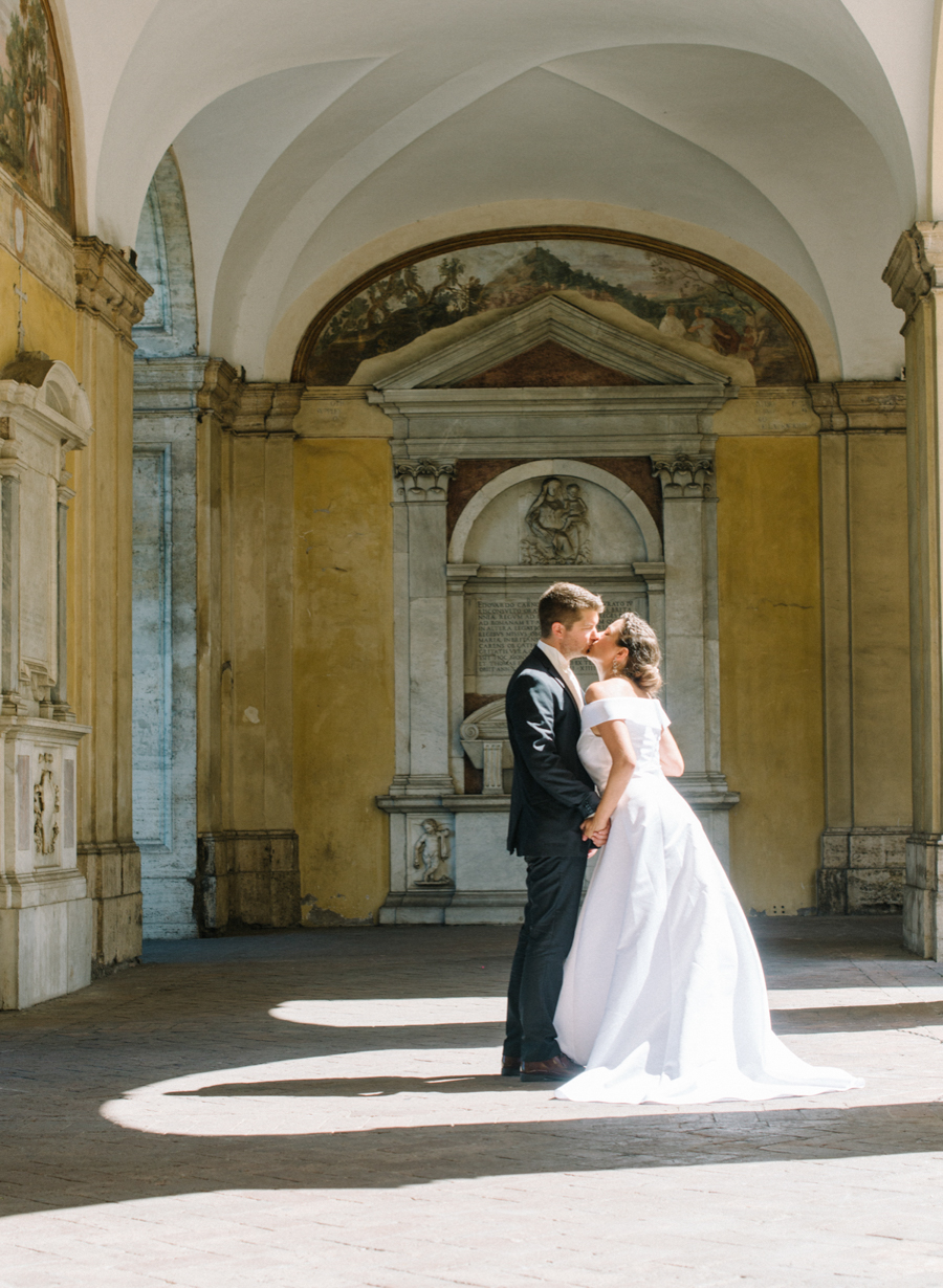 Destination Wedding Photography in Rome