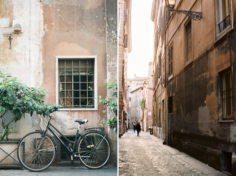 Elope to Rome_Cobblestone roads
