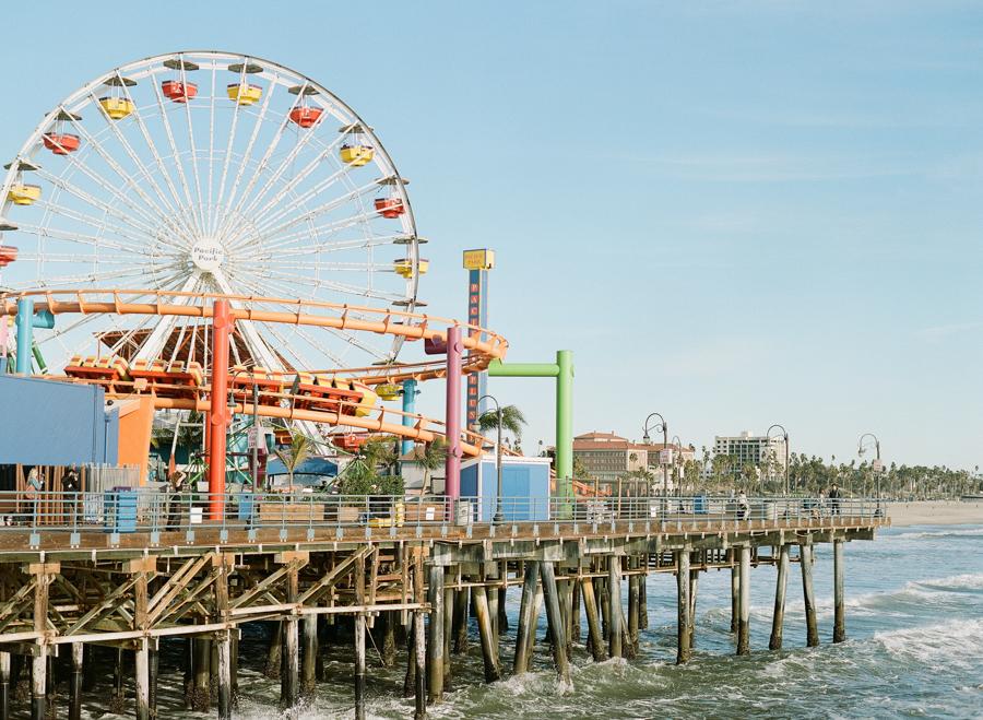 Santa Monica Pier Elopement
