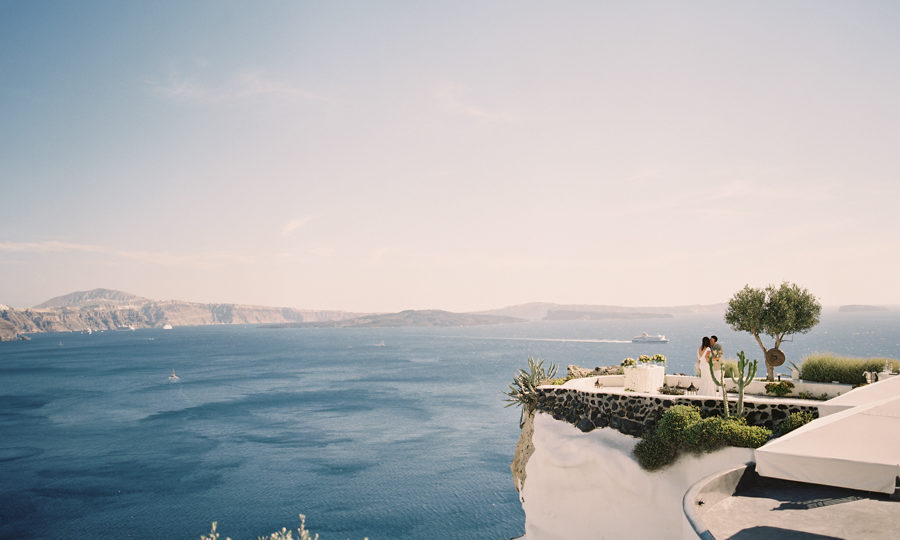 Santorini Elopement at Andronis Luxury Suites