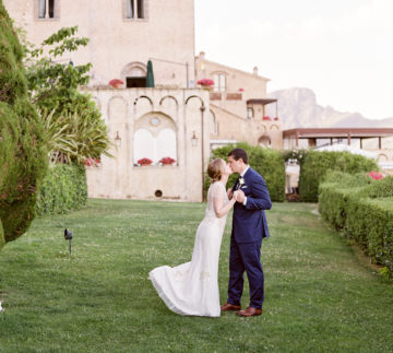 Villa Cimbrone Elopement Photography