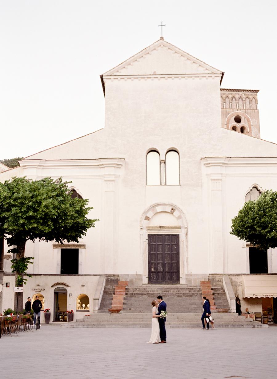 Ravello Elopement at Villa Cimbrone