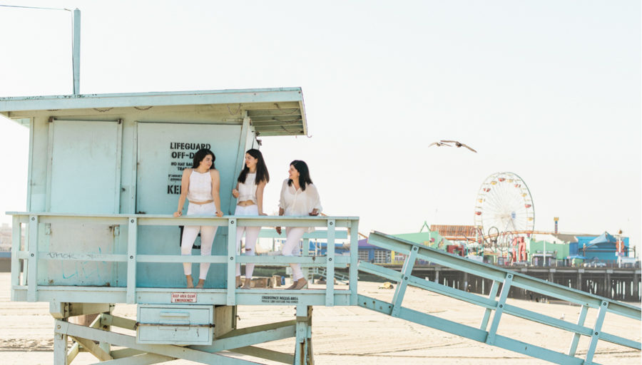 Santa Monica California Portrait Photography