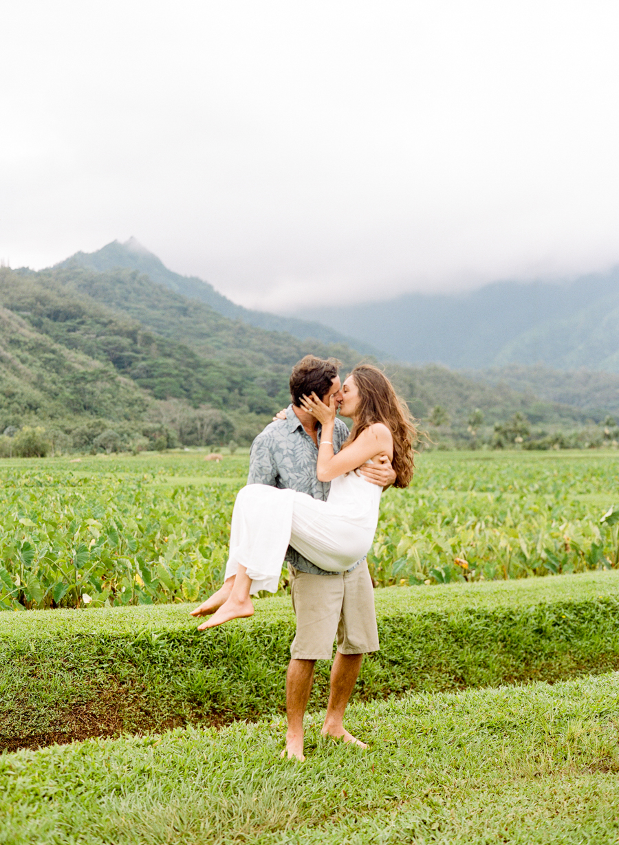 Kauai Wedding Elopement Photography Hawaiian Engagement