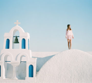 Santorini Greece Portrait Session