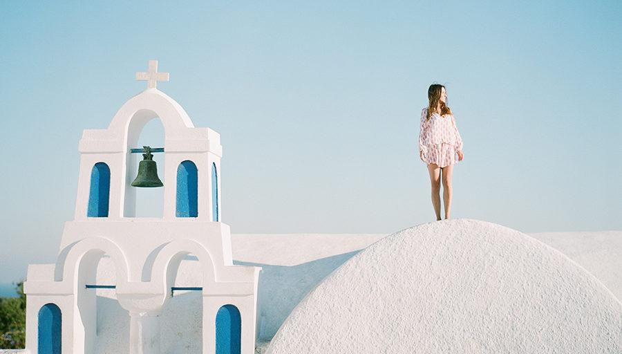Santorini Greece Portrait Session