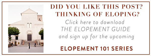 Click here for The Elopement Guide
